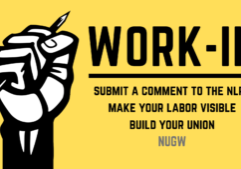 NUGW Comment-In Event